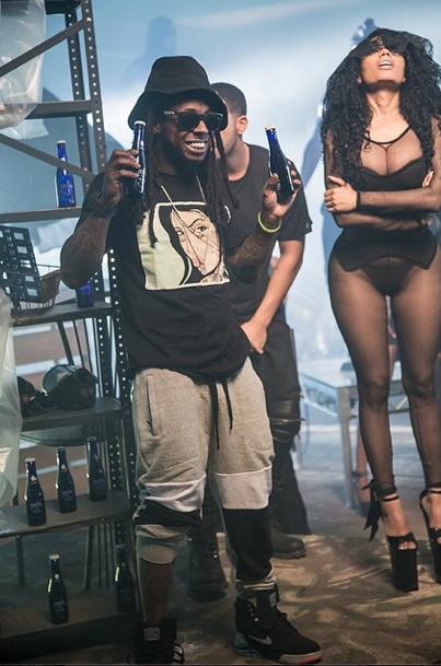 Nicki Minaj et Lil Wayne le 17 novembre 2014