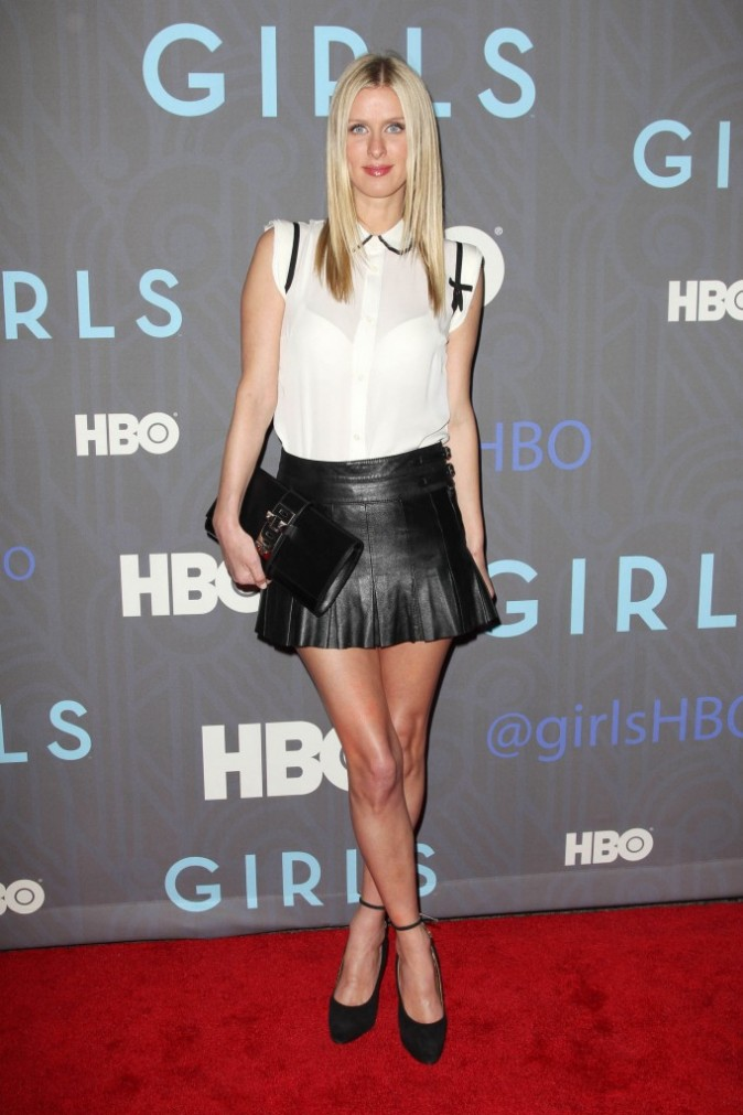 "Paris Hilton lors de la soirée ""HBO presents The New York premiere of Girls Season 2"", le 9 janvier 2013."