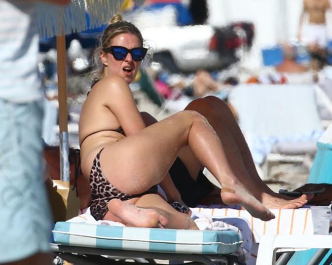 Nicky Hilton à Miami Beach le 7 décembre 2014