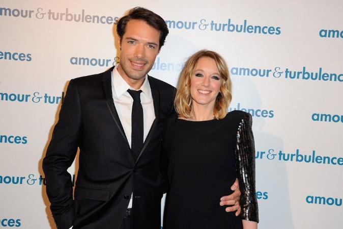 Ludivine Sagnier et Nicolas Bedos le 18 mars 2013 à Paris