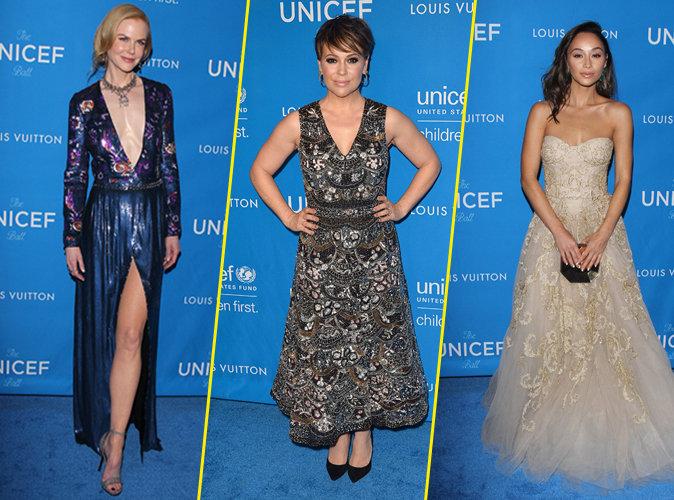 Nicole Kidman, Alyssa Milano et Cara Santana... une brochette sexy au gala de charité de l'UNICEF !