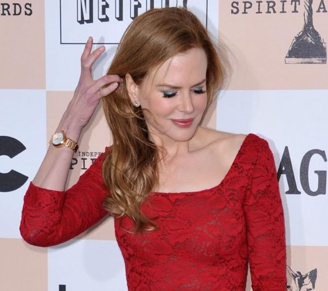 Sa belle crninière rousse ...
