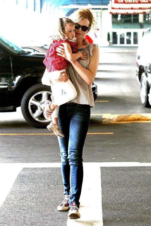 Sunday Rose sera-t-elle un jour aussi belle que Nicole Kidman ?