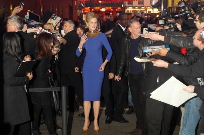 Nicole Kidman lors de la première du film Stoker à Londres, le 17 février 2013.