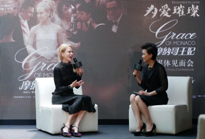 Photos : Nicole Kidman : radieuse en conférence de presse alors que son couple serait au bord de la rupture...