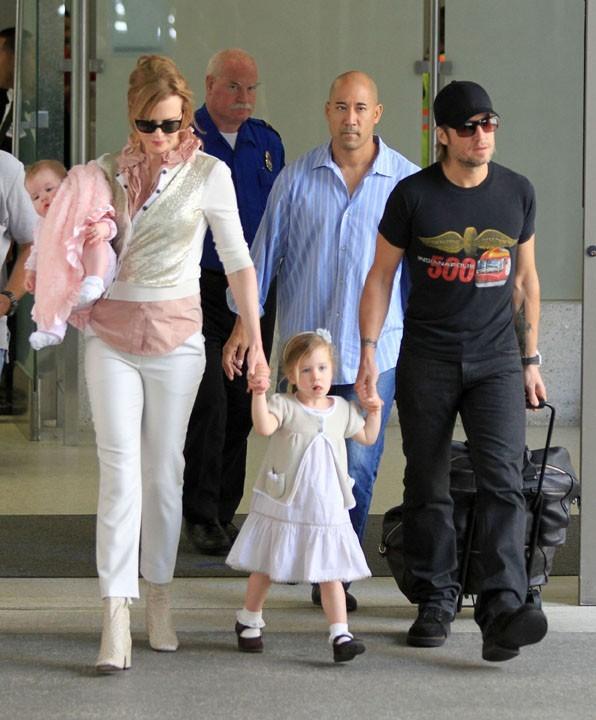Photos : Nicole Kidman : ses deux petites filles sont à croquer !