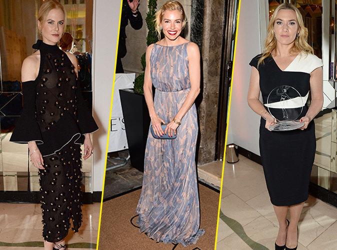 Nicole Kidman, Sienna Miller, Kate Winslet... pluie de stars pour la soir�e Harper's Bazaar !