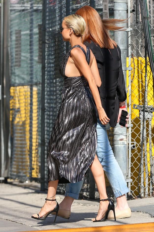 Nicole Richie à Hollywood le 30 juillet 2015