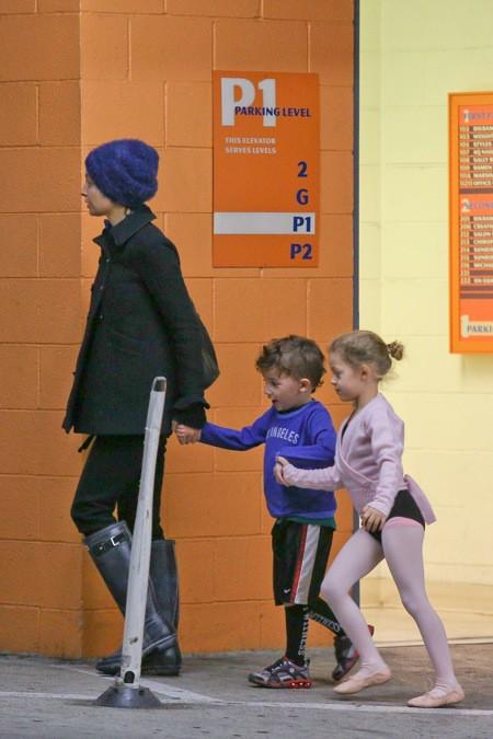 Photos : Nicole Richie : décontractée et sans maquillage pour aller chercher ses enfants !