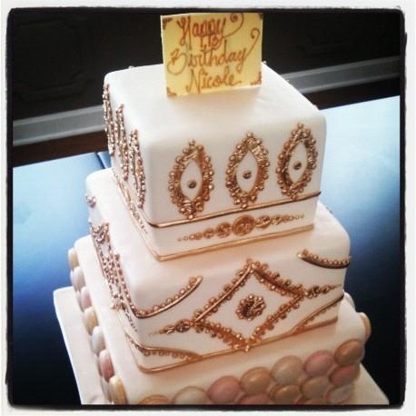 Le magnifique gâteau d'anniversaire de Nicole Richie !