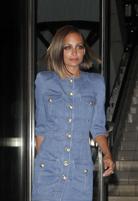 Nicole Richie à New York, le 4 septembre 2013.