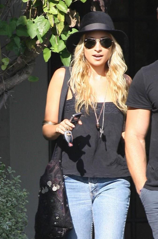 Nicole Richie en virée beauté à Hollywood !