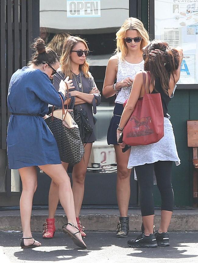 Nicole Richie le 21 septembre 2012 à Studio City