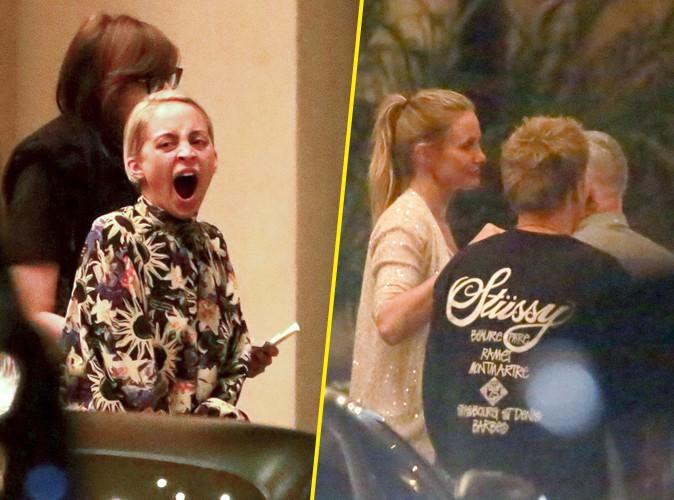 Nicole Richie à la sortie d'un restaurant de Beverly Hills le 16 août 2015