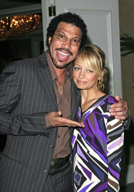 Nicole et son papa, Lionel Richie