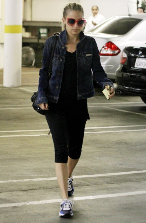 Nicole Richie à Studio City en Californie, le 4 mai 2011.