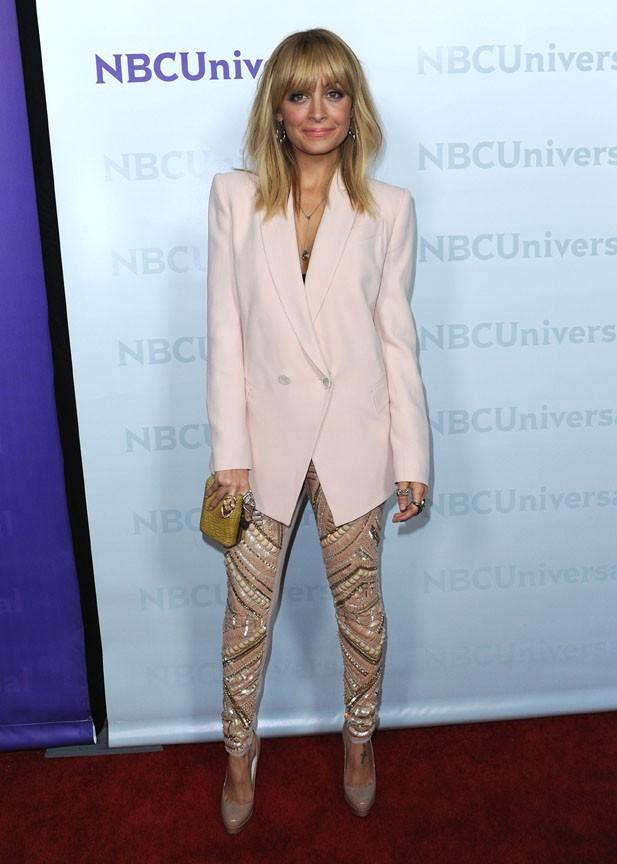 Nicole Richie à Pasadena hier pour le le NBC Universal Winter Press Tour !