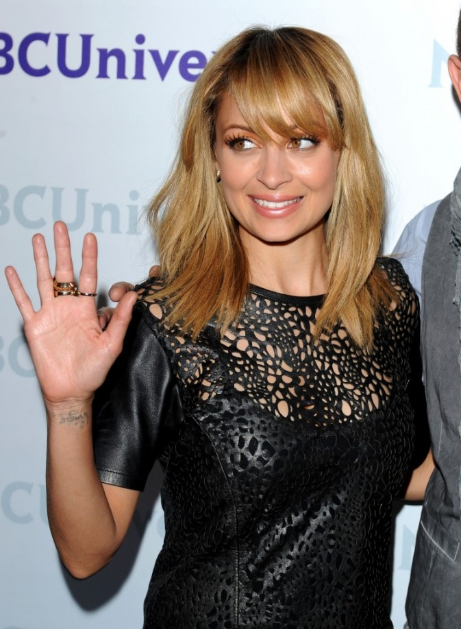Nicole Richie lors de la journée presse organisée par NBC à Pasadena, le 18 avril 2012.