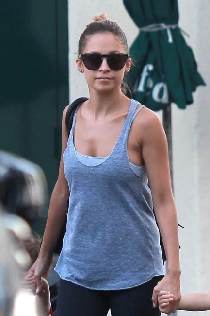 Nicole Richie à West Hollywood, le 1er octobre 2012.
