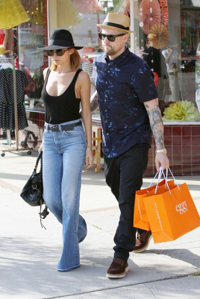 Nicole Richie et Joel Madden, Los Angele, 22 mars 2013