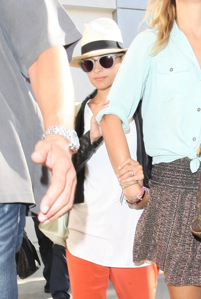 Nicole Richie le 3 septembre 2012 à Los Angeles