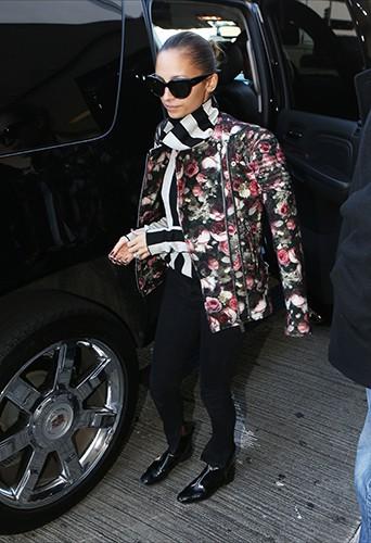 Nicole Richie à Los Angeles le 4 décembre 2013