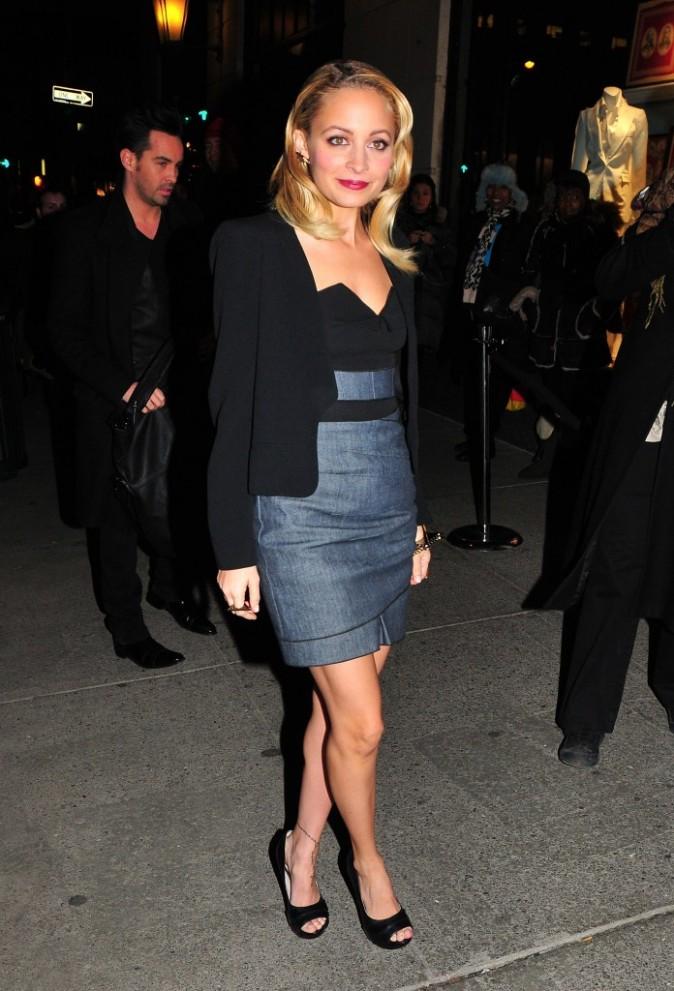 Nicole Richie à la soirée de lancement de la Fashion Week de New York chez Bergdorf Goodman, le 9 février 2011.