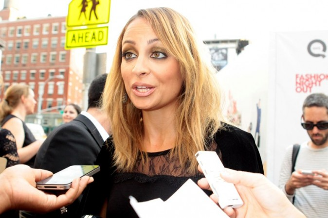Nicole Richie à New-York le 6 septembre 2012