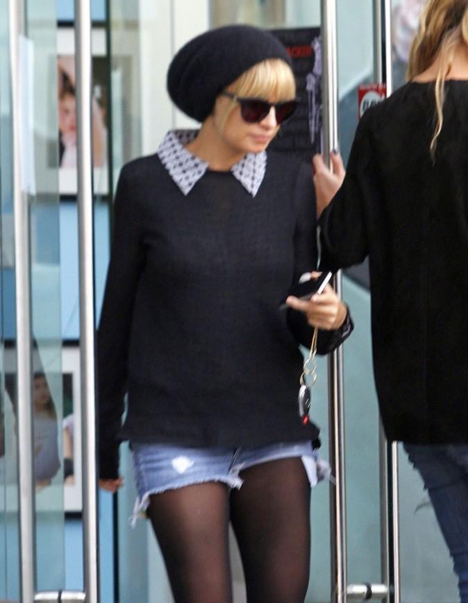 Nicole Richie à Los Angeles, le 9 novembre 2011.