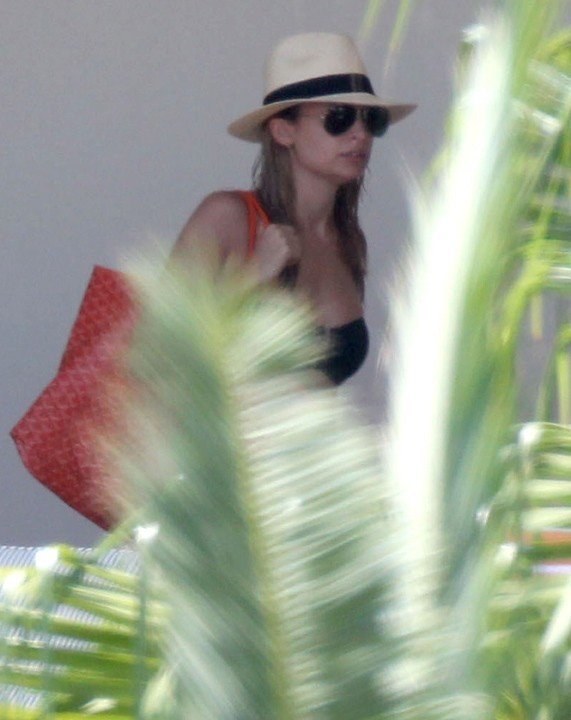 Nicole Richie à San Cabo (Mexique) le 1 septembre 2012