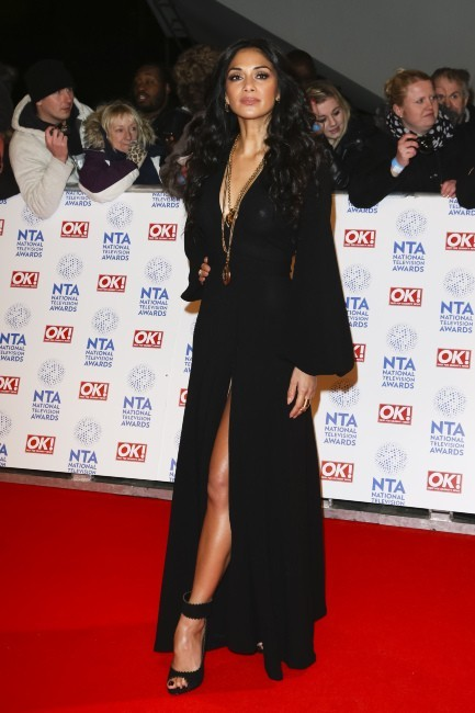 Nicole Scherzinger le 23 janvier 2013 à Londres