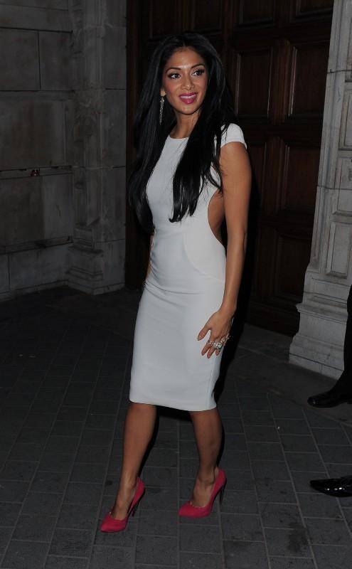 Nicole Scherzinger le 30 octobre 2012 à Londres