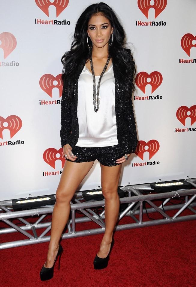 Nicole Scherzinger hier soir au iHeartRadio Music Festival !