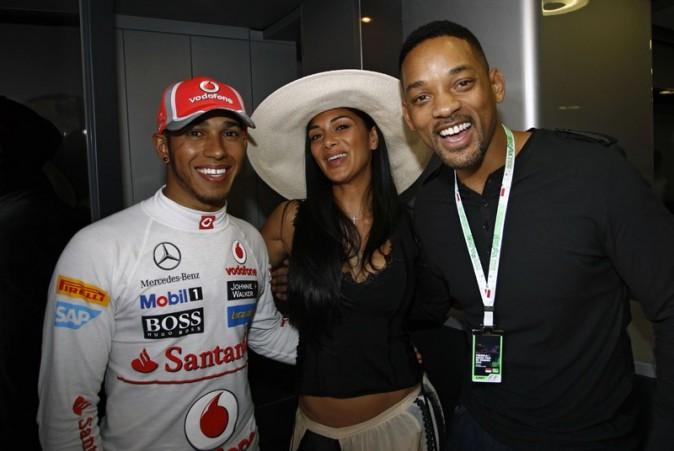 Dans les backstages des qualif' avec Lewis !