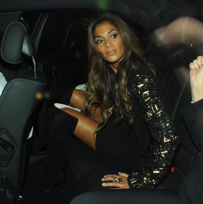 Nicole Scherzinger à Londres le 9 octobre 2013