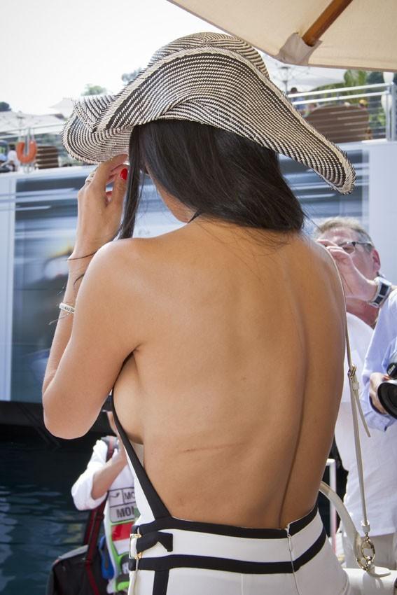 Nicole Scherzinger, sexy lady à Monaco le 27 mai 2012