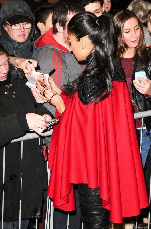 Nicole Scherzinger le 6 décembre 2012 à Manchester
