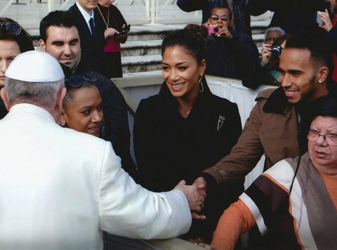 Nicole Scherzinger et Lewis Hamilton : escapade romantique à Rome et rencontre avec le pape François pour la Saint-Valentin !