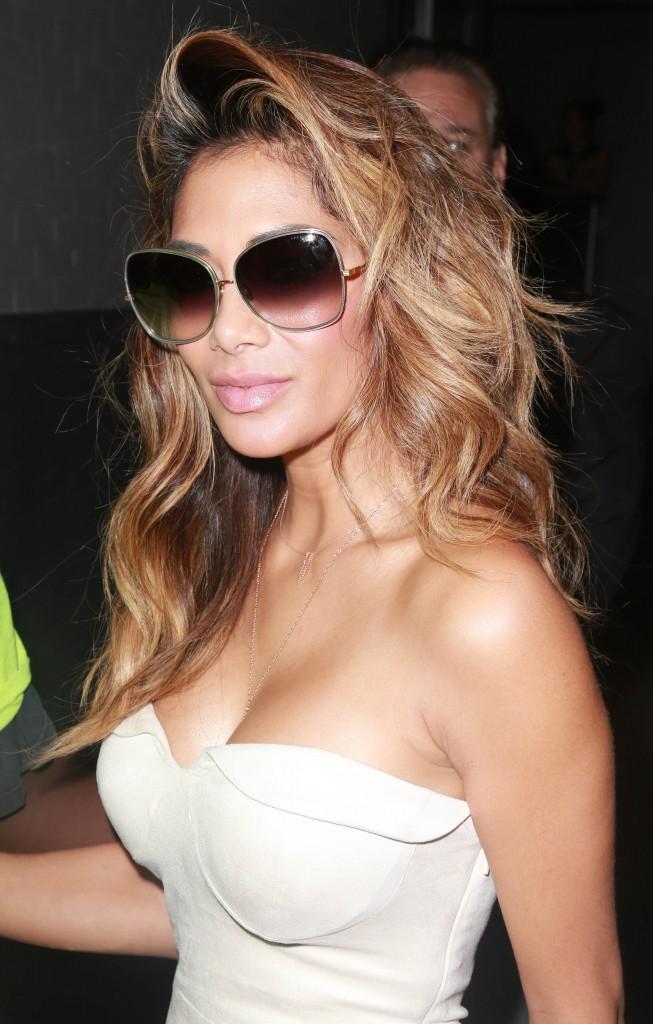 Nicole Scherzinger à New York, le 1er juillet 2015