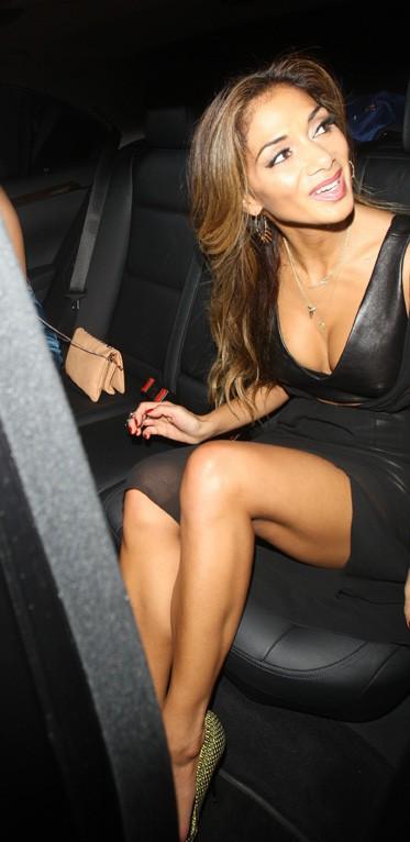 Nicole Scherzinger à Londres le 23 octobre 2013
