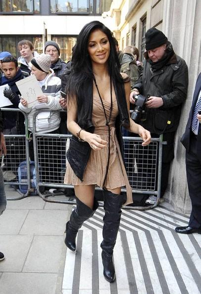 Elle était à Londres avec son chéri, Lewis Hamilton...