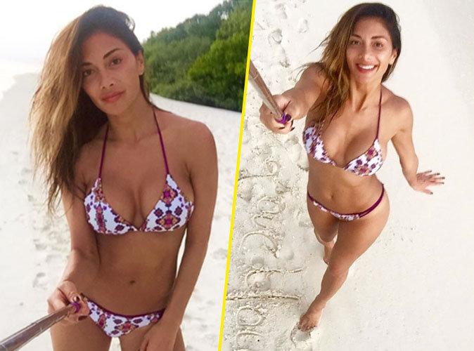 Nicole Scherzinger : sexy en micro-bikini aux Maldives
