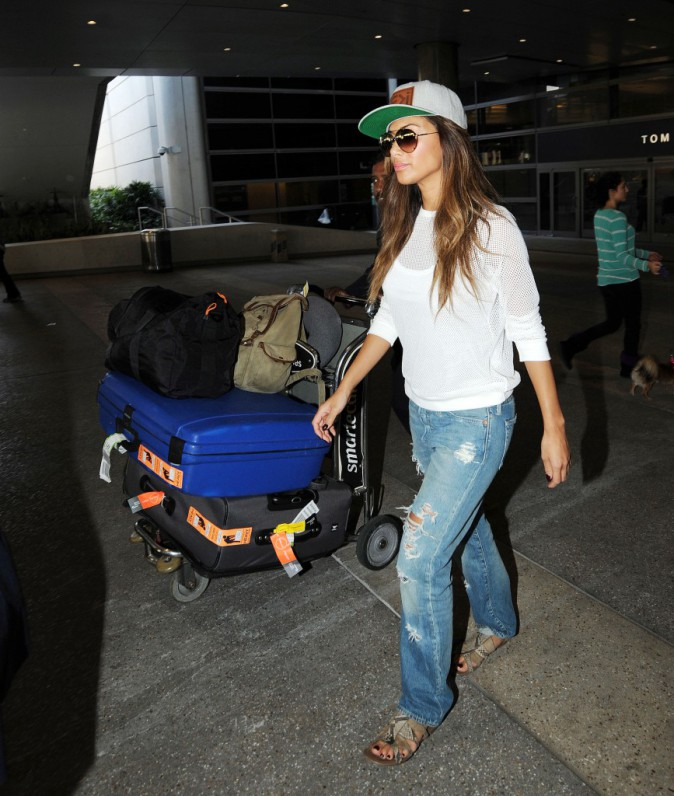 Photos : Nicole Scherzinger : un retour décontracté à L.A !