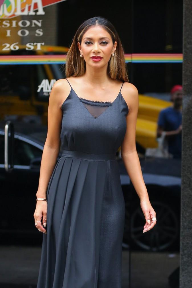 Nicole Scherzinger à New York le 30 septembre 2015