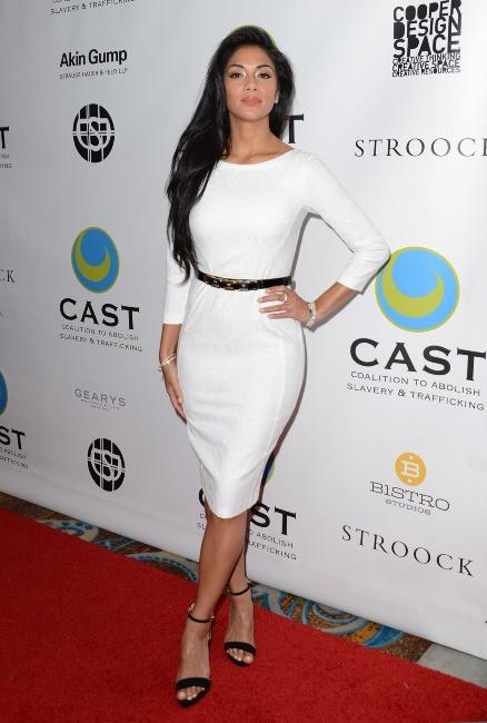 Nicole Scherzinger le 9 mai 2013 à Los Angeles