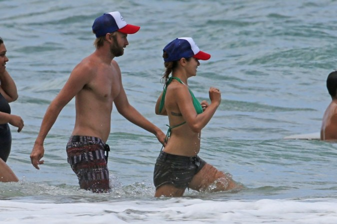 Nikki Reed le 2 septembre 2012 à Hawaii