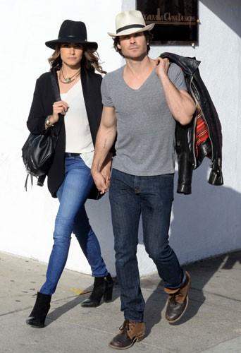 Photos : Nikki Reed et Ian Somerhalder, cowboys complices et fous amoureux !