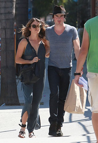 Nikki Reed et Ian Somerhalder à Los Angeles le 6 septembre 2014