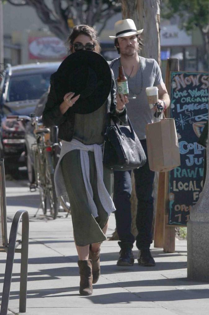 Nikki Reed et Ian Somerhalder : toujours inséparables ces deux là !