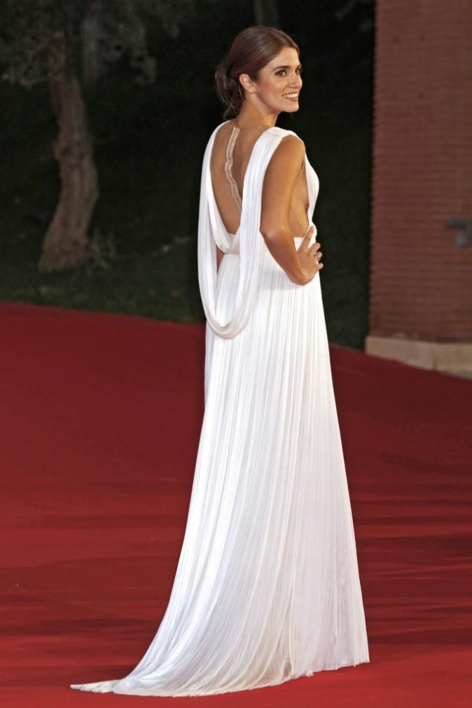 Nikki Reed lors de la premère du film Twilight 4 à Rome, le 30 octobre 2011.